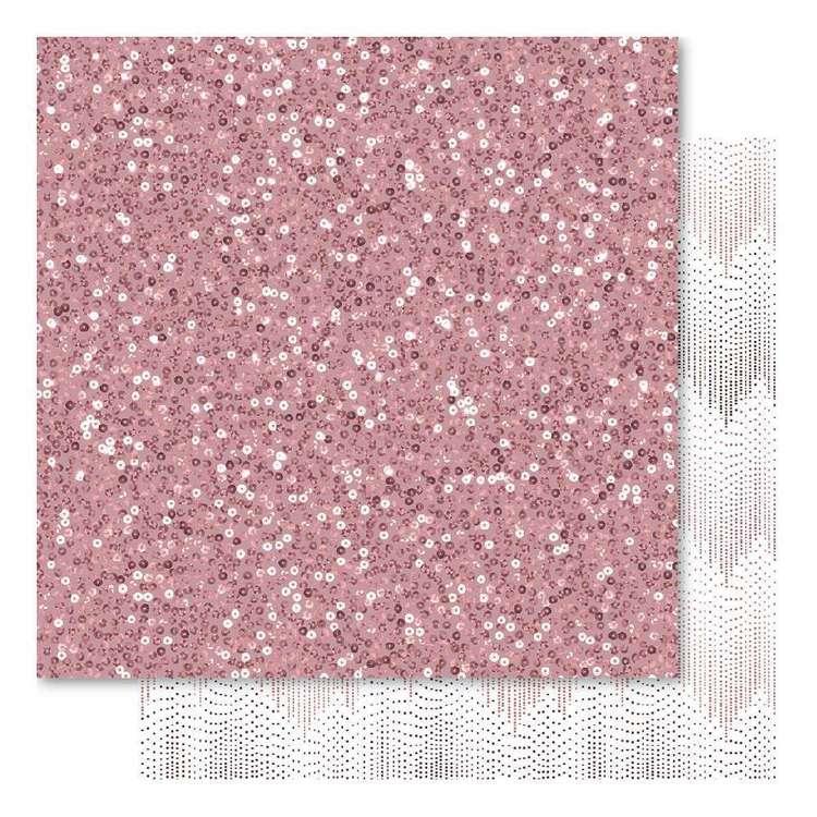 Bella! Mini Themes Blush Sparkles Cardstock