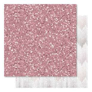Bella! Mini Themes Blush Sparkles Cardstock