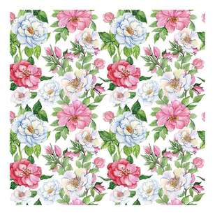 Bella! Paper World Fancy Floral Blossom Cardstock