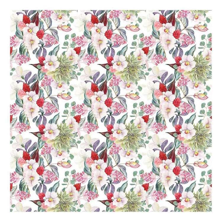 Bella! Paper World Fancy Floral Bloom Cardstock