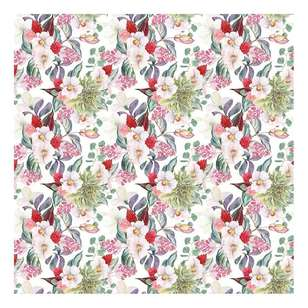 Bella! Paper World Fancy Floral Bloom Cardstock