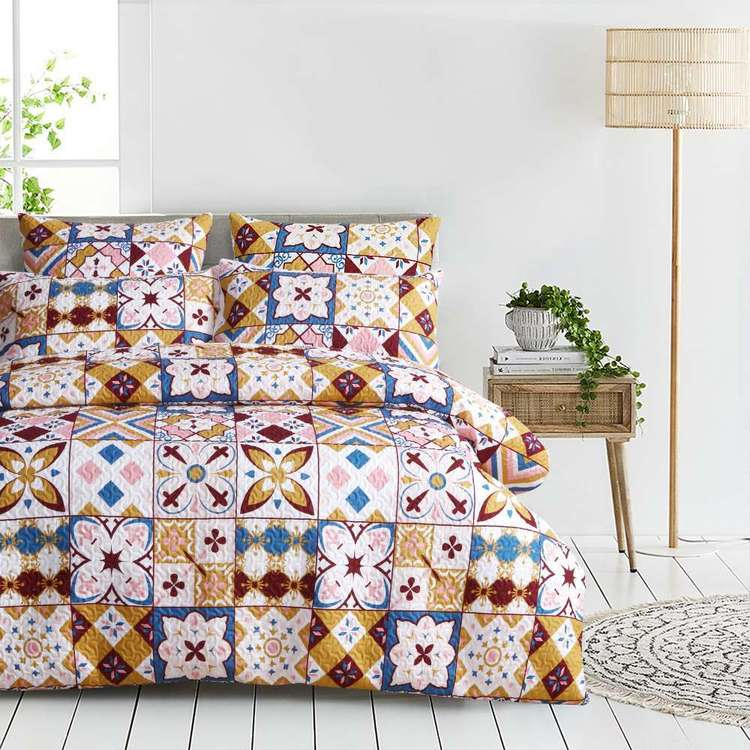 KOO Eloise Quilted Quilt Cover Set