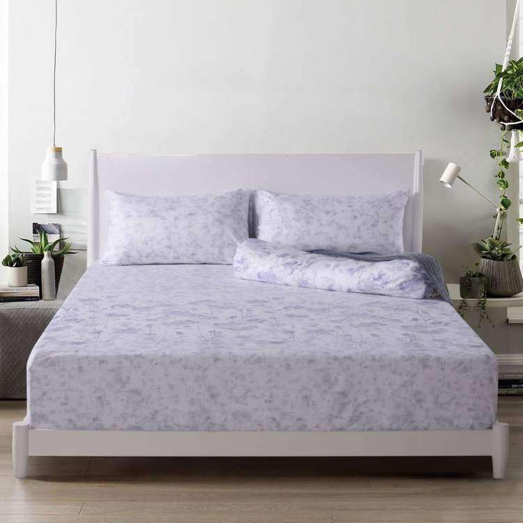 KOO Poppy Tencel Bolster Sheet Set