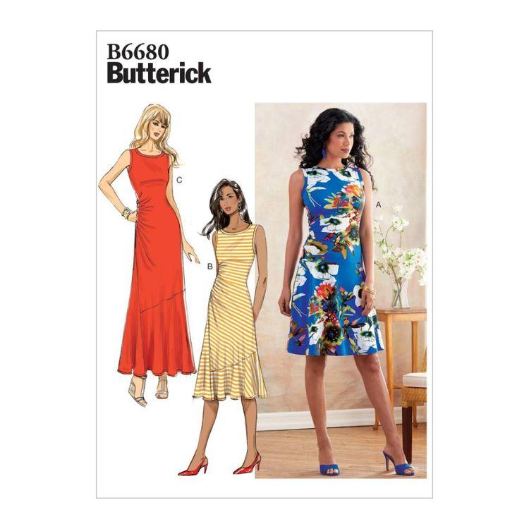 Butterick Pattern B6680 Misses' Dress