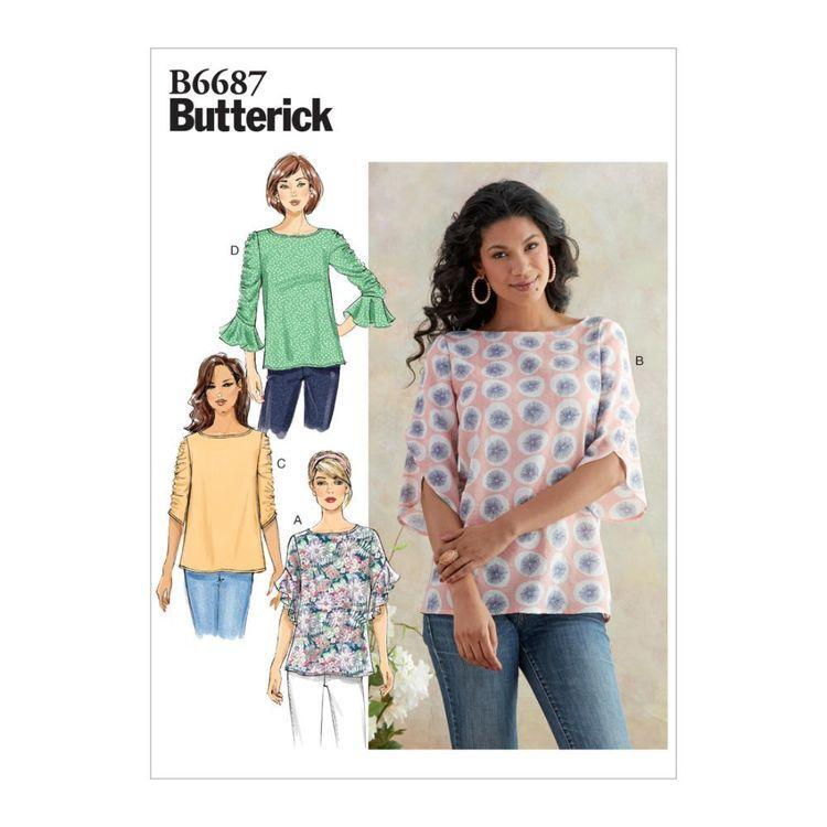 Butterick Pattern B6687 Misses' Top