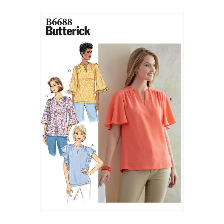 Butterick Pattern B6688 Misses' Top