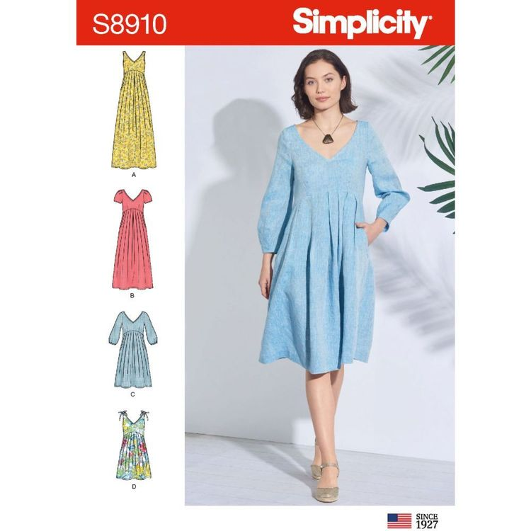 Simplicity Sewing Pattern S8910 Misses' Dress
