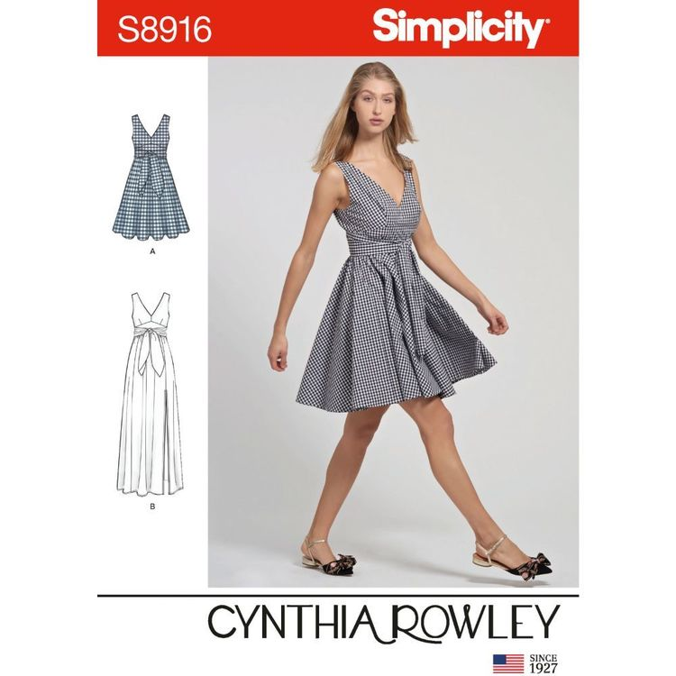 Simplicity Sewing Pattern S8916 Misses' Dresses