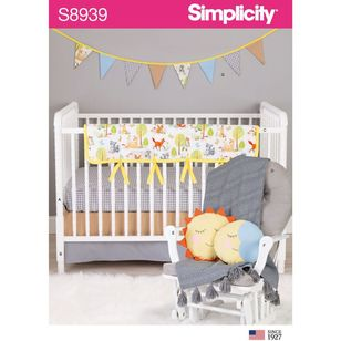 Simplicity Sewing Pattern S8939 Nursery DEcor