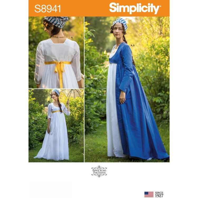 Simplicity Sewing Pattern S8941 Misses' Costume