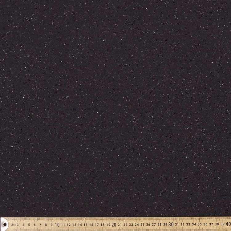 Plain Glitter Knit Jersey 148 cm Fabric