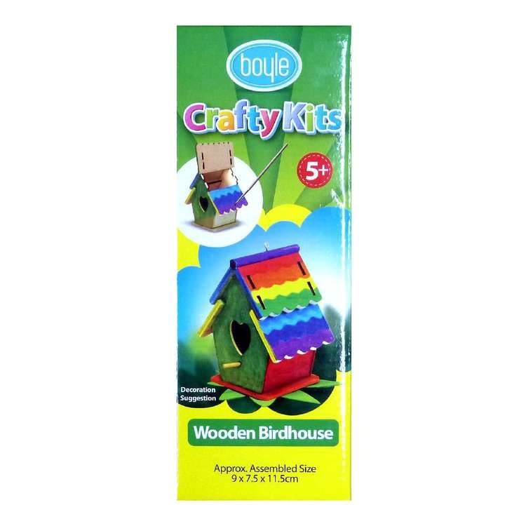 Boyle Birdhouse Crafty Kit