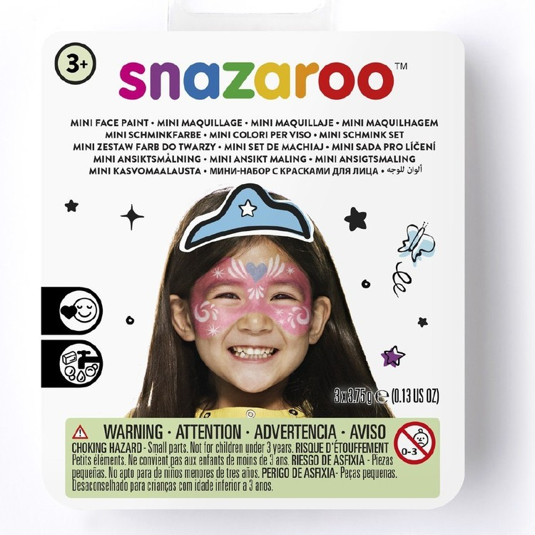 Snazaroo Festive Mask Mini Face Paint Kit