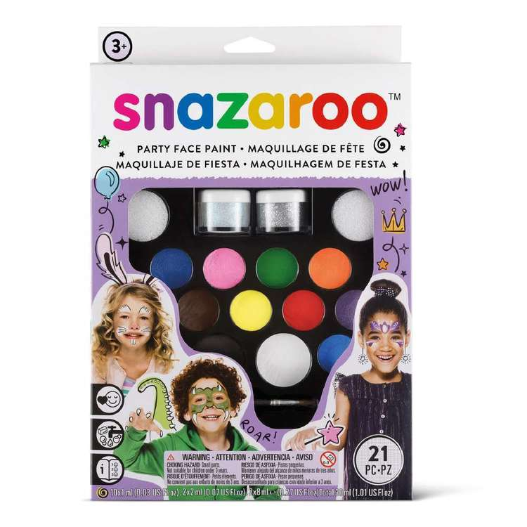 Snazaroo Ultimate Party Face Paint Pack