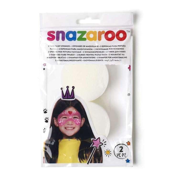 Snazaroo Face Paint Sponges 2 Pack