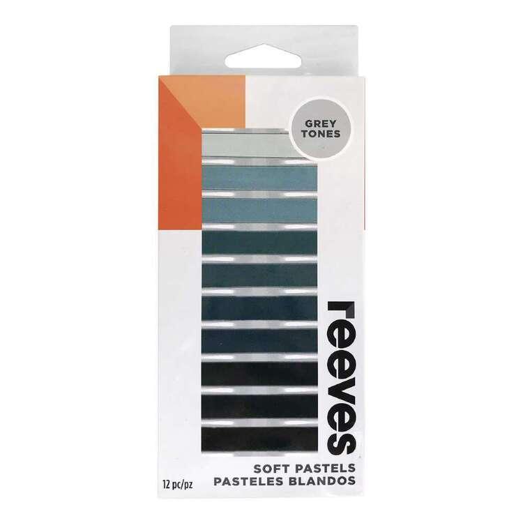 Reeves Grey Tone Soft Pastels