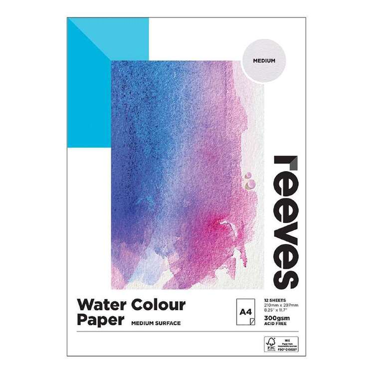 Reeves Watercolour Paper Pad