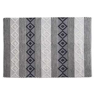 Koo Home Zadin Textured Stripe Rug