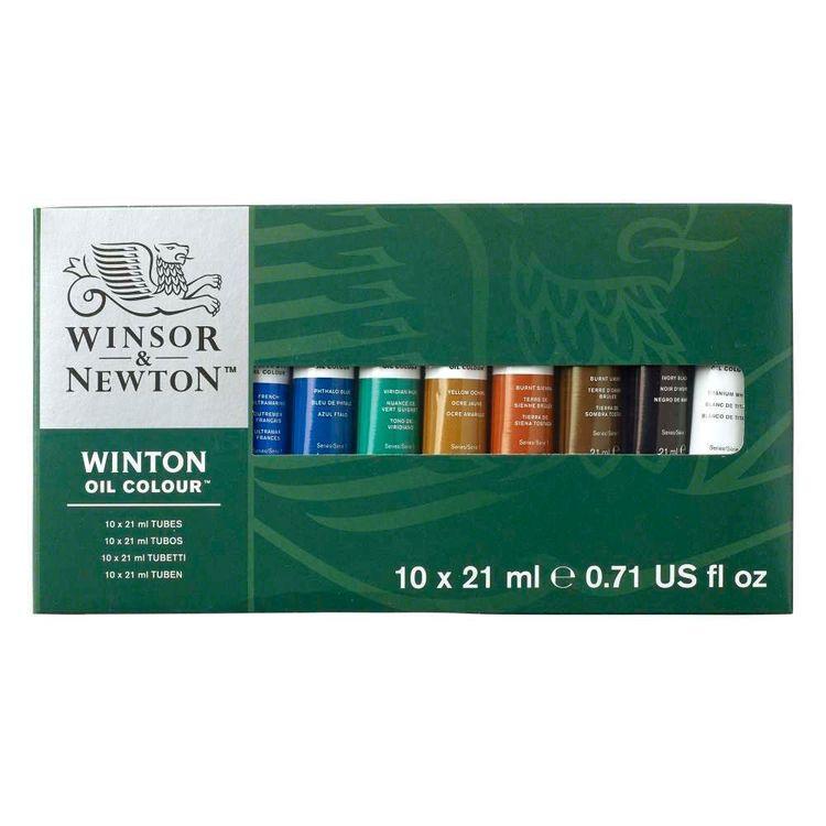 Winsor & Newton Winton Oil Set 10 Pack