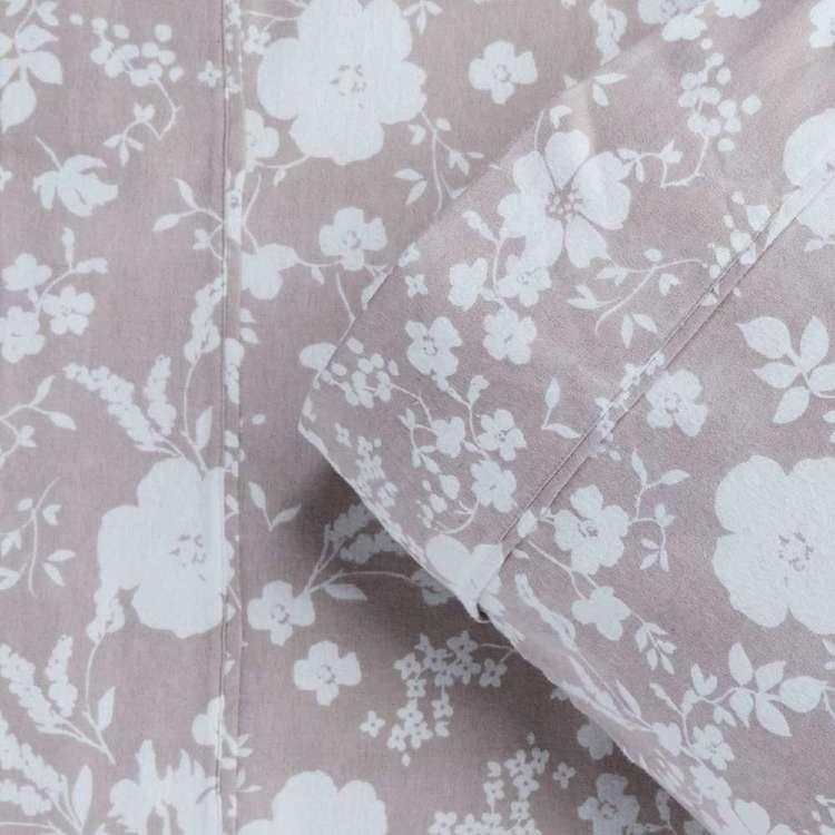 KOO Flannelette Nazia Sheet Set