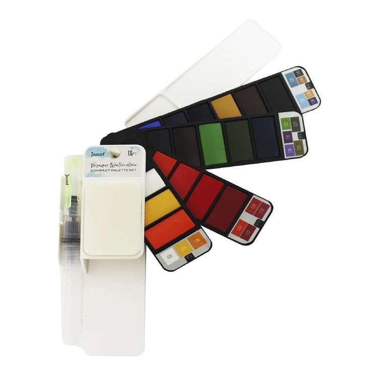 Jasart Voyager Water Colour Flip Set 18