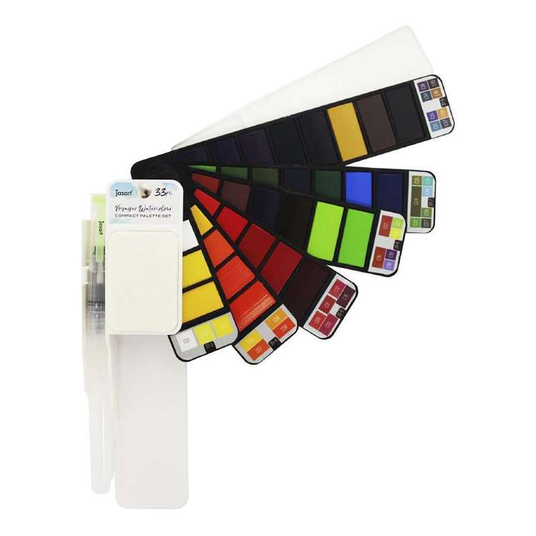 Jasart Voyager Water Colour Flip Set 33 Multicoloured