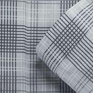 KOO Flannelette Check Sheet Set