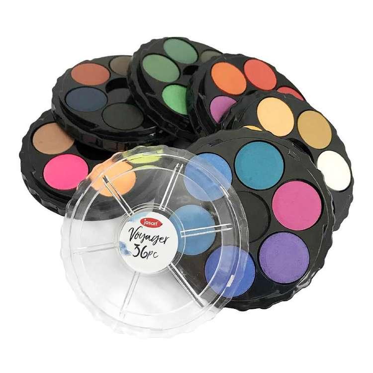 Jasart Voyager Water Colour Discs Set 36