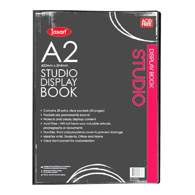 Jasart Studio Display Book