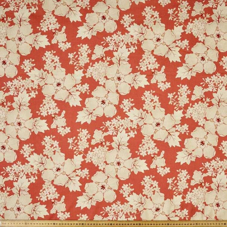 P & B Textiles Digital Vintage Prestige Floral Cotton Fabric
