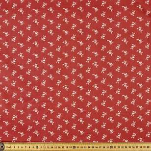 P & B Textiles Digital Vintage Prestige Spaced Flowers Cotton Fabric