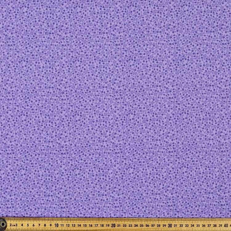 P&B Textiles Digital Forest Fancy Berry Cotton Fabric