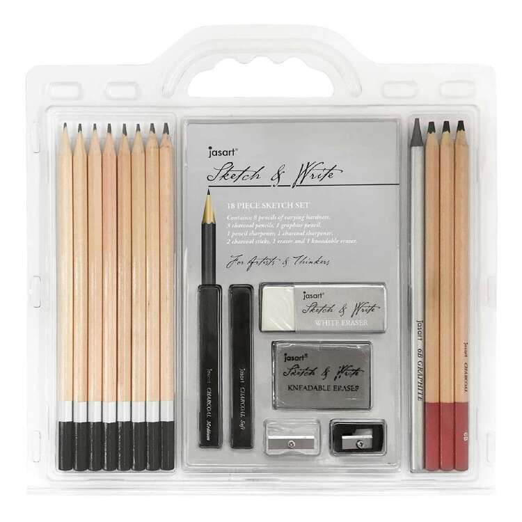 Jasart Sketch & Write 18 Piece Set
