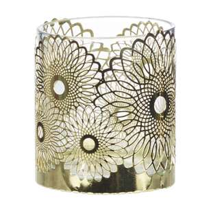 Ombre Home Sakura Bloom Metal Candle Holder