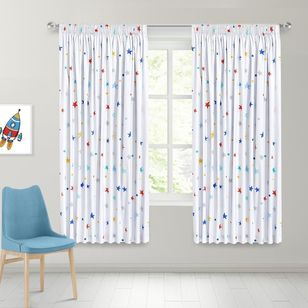 Caprice Star Blockout Pencil Pleat Curtains