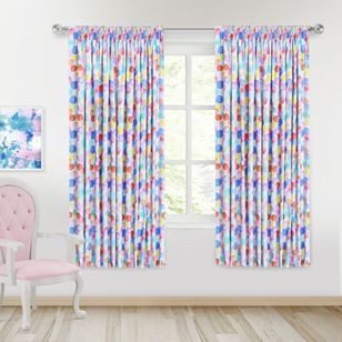 Caprice Balloons Blockout Pencil Pleat Curtains