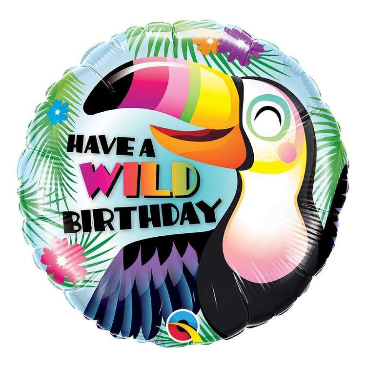 Qualatex Have A Wild Birthday Foil Balloon