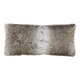 Bouclair Faux Fur Wolf X-Large Cushion