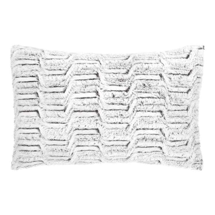 Bouclair Faux Fur Herbert Lumbar Cushion