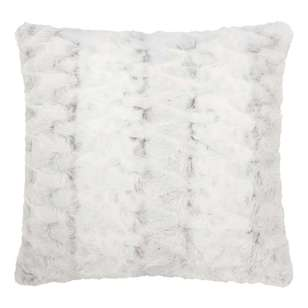 Bouclair Faux Fur Hare Cushion