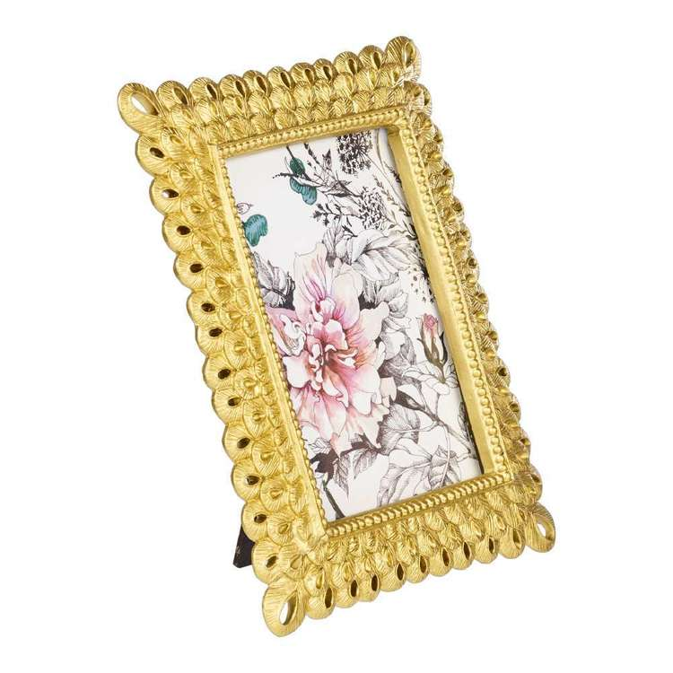 Ombre Home Sakura Bloom Gold Loop Frame