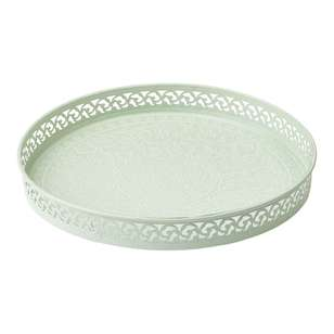 Ombre Home Country Living Etched Mandala Tray