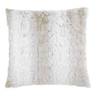 Bouclair Faux Fur Lynx Cushion