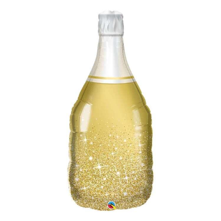 Qualatex Bubbly Wine Bottle Foil Balloon