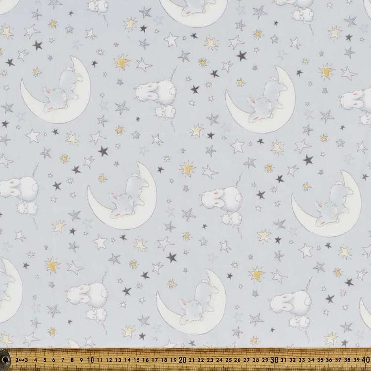 Sweet Dreams Printed 138 cm Muslin Fabric
