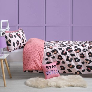 KOO Kids Leopard Spot Quilt Cover Set