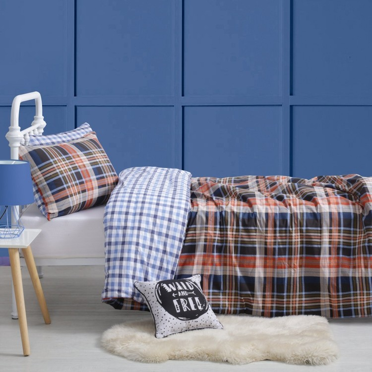 KOO Kids Lumberjack Quilt Cover Set