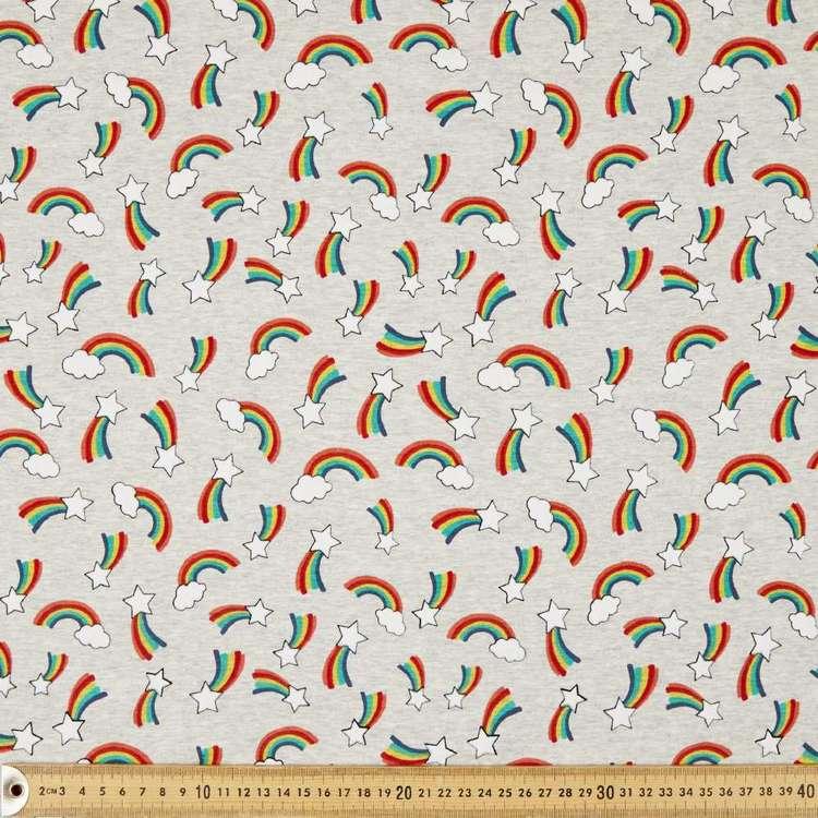 Shooting Stars Printed 148 cm Cotton Spandex Fabric