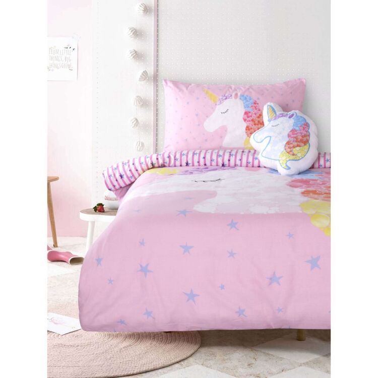Kids House Unicorn Magic Quilt Cover Set