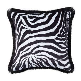 Koo Home Zuri Printed Velvet Cushion